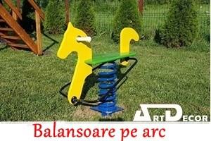 Balansoare pe arc