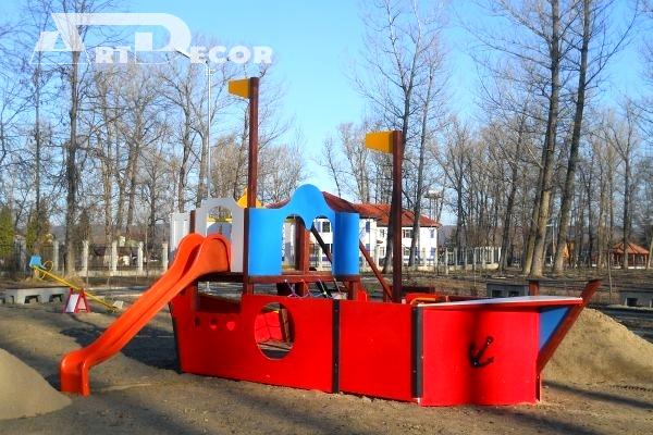 Vapor pentru copii din lemn