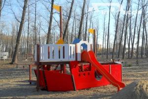 Echipament de joaca -Vapor cu vela