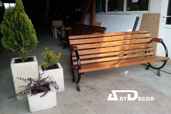 Banca lemn exterior