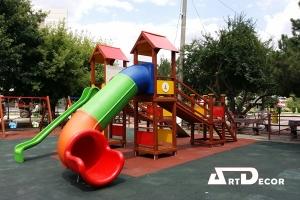 Sistem pentru copii cu patru turnuri