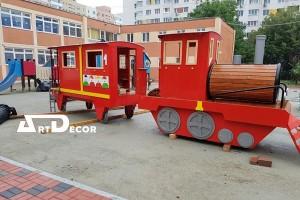 Tren pentru copii de exterior