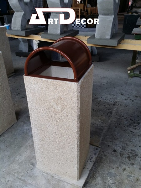 Cos stradal din beton
