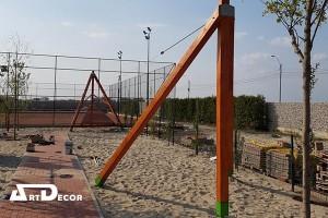 Mobilier urban si echipamente de joaca - Tiroliane