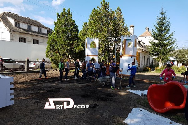 Team building amenajare parc