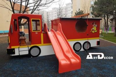Echipament masina de pompieri pentru parcuri