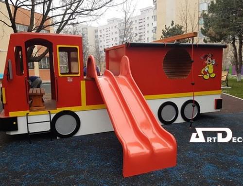 Masina pompieri parcuri