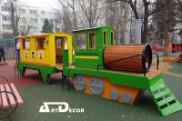 ansamblu de joaca trenulet cu vagon