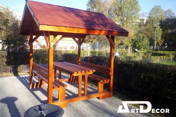 Foisor pentru gradina - Foisoare din lemn