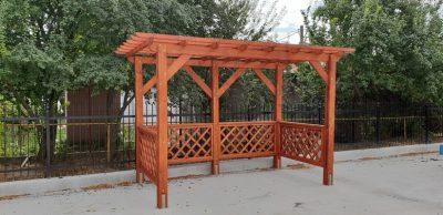 Pergola din lemn - MUPE
