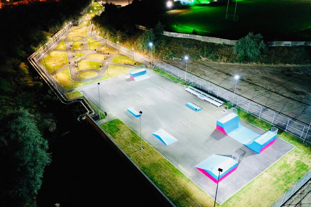 skatepark mobilier modern
