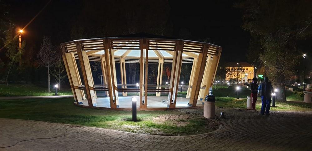 pavilion pentru parcuri