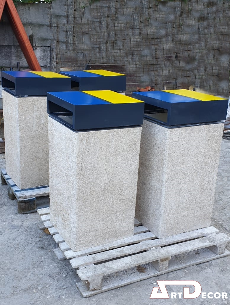 Cos din beton colectare selectiva